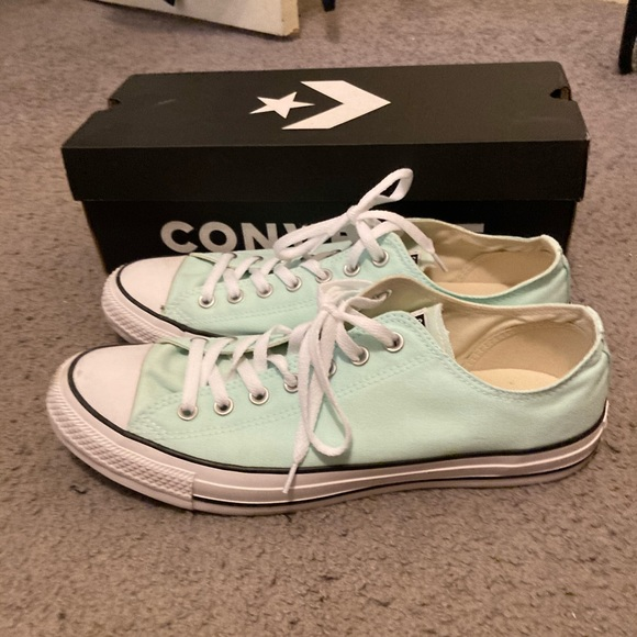 Converse All Star sneakers men in size 12 teal